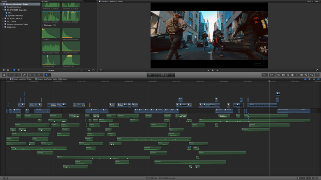 JFork fcpx trailer cut